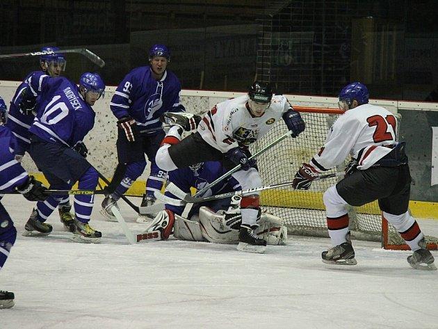 Hokejisté HC Frýdek-Místek nestačili v domácím prostředí na tým Nového Jičína, kterému podlehli 0:5.