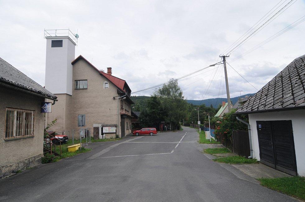 Obec Morávka.