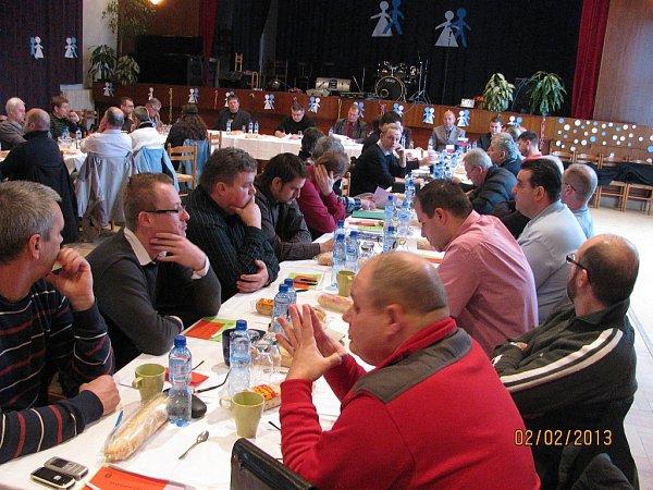 Letošních voleb do výkonného výboru OFS FM se zúčastnili zástupci 37okresních klubů.