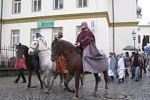 Tradiční tříkrálový průvod se uskutečnil ve čtvrtek 5. ledna ve tři odpoledne ve Frýdku-Místku.