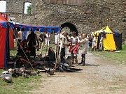 Velká historická bitva o hrad na Hukvaldech.