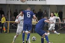 Fotbalisté Brušperku zdolali na domácím trávníku Veřovice 4:2.