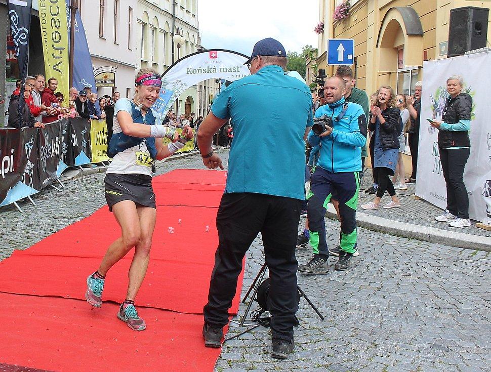 Beskydskou sedmičku v kategorii žen vyhrála Hana Holoubková.