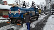 Havárie zastavila dodávky vody na sídlišti Slezská.