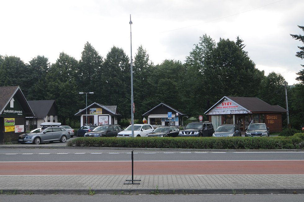 Obec Ostravice.