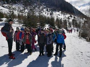 Třinečtí školáci si užili pobyt v Tatrách.