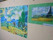 Vincent van Zuška zdobí podzemí Nemocnice Třinec