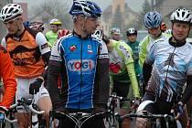 Cyklistický Tour de Čupek se letos jel s rekordní účastí.