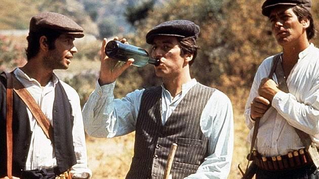 Snímek z legendárního filmu Kmotr.