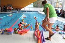 Krytý bazén v Brušperku.