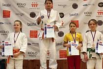 Frýdecko-místecká judistka Karolína Kubíčková vybojovala zlato v kategorii mladších žaček.