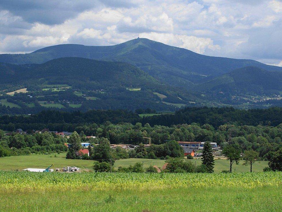 Pohled ze Pstruží.