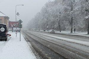 Sníh ve Frýdku-Místku