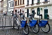 Sdílená kola ve Frýdku-Místku.