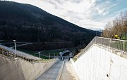 Ukončená rekonstrukce vodního díla Šance na řece Ostravici.