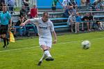 Dětmarovice uhrály bod. Na snímku kapitán týmu Tomáš Hrtánek.
