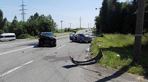 Dopravní nehoda na Karvinsku