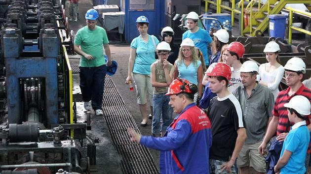 Prohlídka provozu ArcelorMittal Tubular Products Karviná.