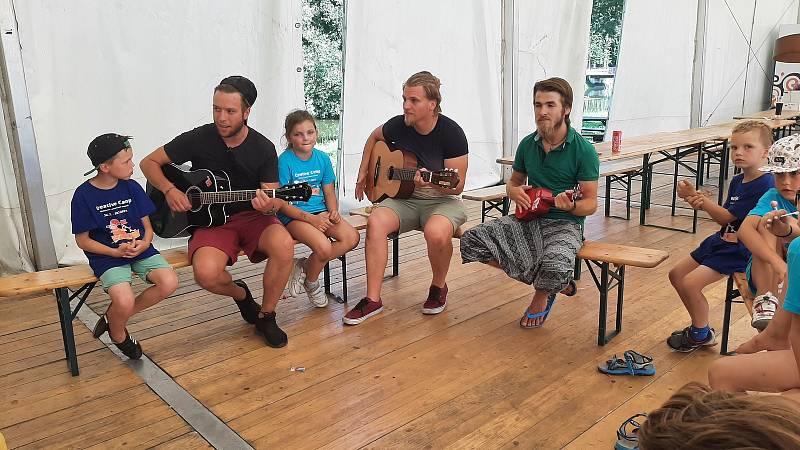 Letní doučovací kemp, Karviná, Lodičky, červenec 2021.