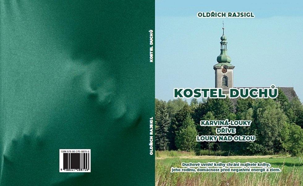 Obálka knihy Kostel duchů.