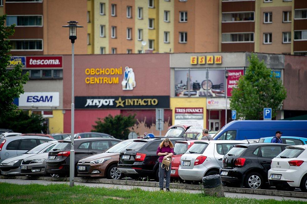 Město Orlová v srpnu 2019.