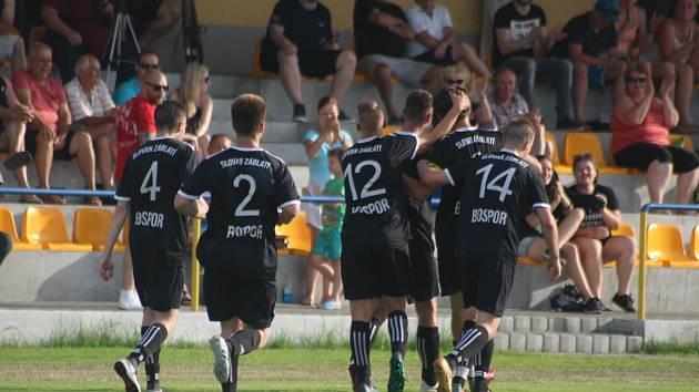 Fotbalisté Záblatí prožili skvělou sezonu v I.B třídě. Jako nováček skončili druzí ve skupině C.