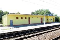 Železniční stanice Havířov-Suchá v srpnu 2012.