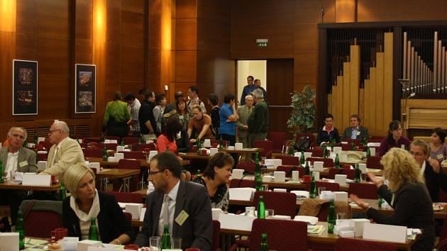 Konference o městské zeleni.
