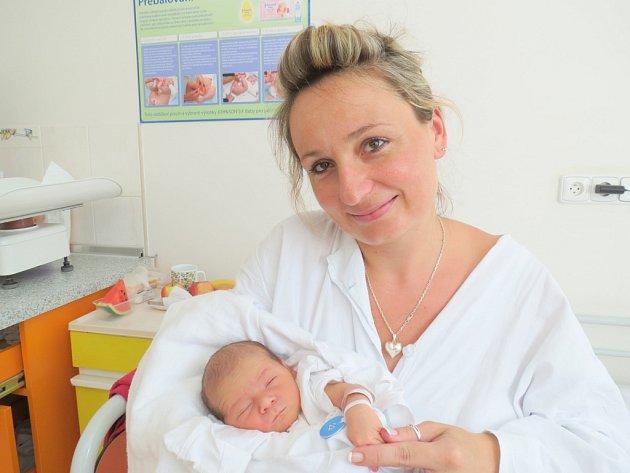 Barbora Sikorová, 10. srpna 2013, Havířov, váha: 3,04 kg, míra: 49 cm