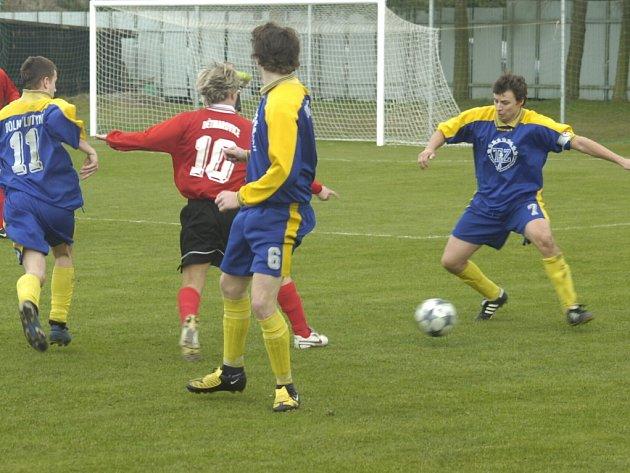 Nižší fotbalové soutěže přinášejí zajímavé výsledky.
