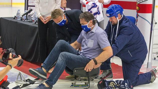 Jan Szturc coby nadšený sportovec momentálně pracuje jako asistent trenéra u české reprezentace para hokejistů.