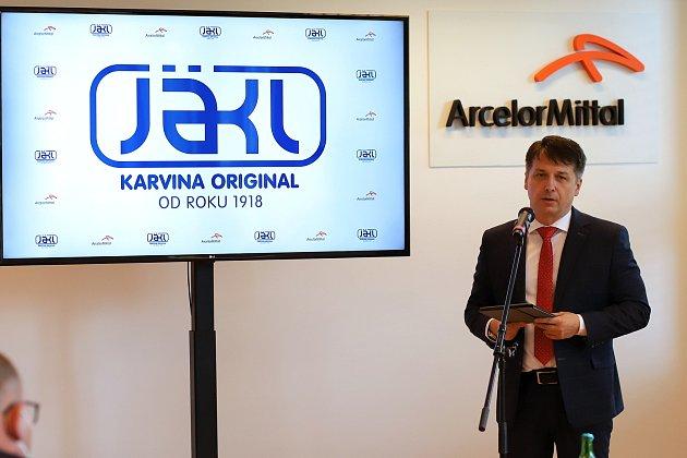 Společnost Jäkl Karviná patřící pod AMTP investuje do nových strojů a technologií. Chce také oživit své logo coby značku kvality. Ředitel AMTP Jäkl Karviná René Fabik.