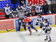 Havířov (v bílém) prohrál v Českých Budějovicích jasně 0:5.