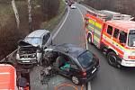 Nehoda v Chotěbuzi.