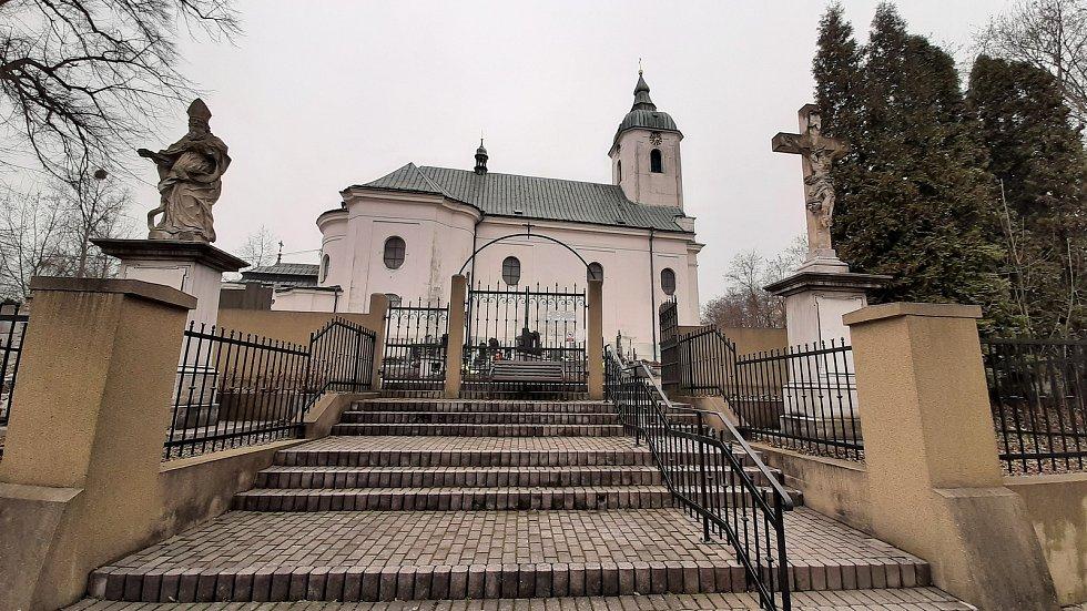 Dolní Lutyně. Kostel.