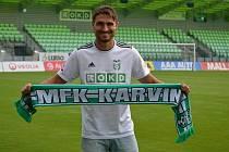 Michal Papadopulos - nová posila fotbalové Karviné.