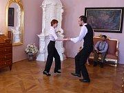 Zámek Fryštát ožil, vrátili se na něj Larisch-Mönnichové a tančil se charleston.