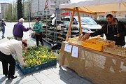 Farmářské trhy v Havířově.
