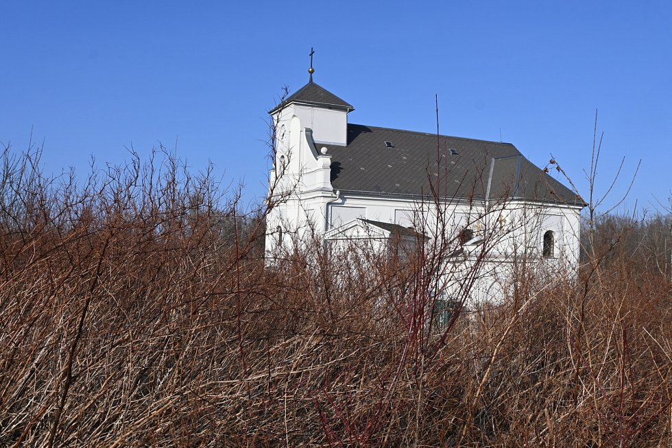 Kostel sv. Petra z Alkantary.