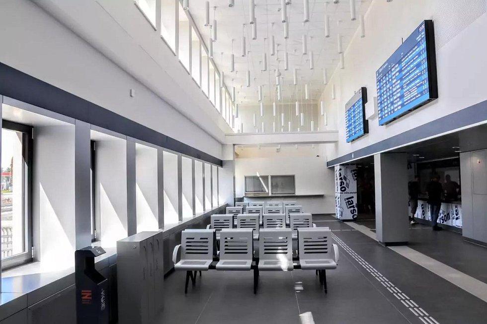 Pro cestující v Havířově se otevřely nové odbavovací prostory.
