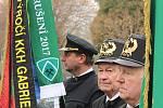 Členové kroužků krojovaných horníků se v pátek 12. dubna 2019 společně připomněli důlní neštěstí, ke kterému došlo před 95 lety na nedalekém Dole Gabriela.