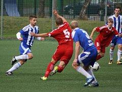 Orlovští fotbalisté prohráli další utkání. Problémy trvají.