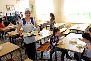 ADRA pomáhá dětem a rodinám v Mukačevu a okolí. Jídelna školy č. 2 na ulici T.G. Ševčenka v Mukačevu.