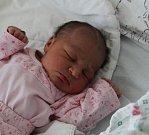 Viktorie Miscel Bajzová se narodila 15. února. Měřila 44 cm a vážila 2870 g.