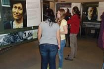 Výstava o příběhu Anny Frankové.