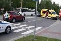 Nedání přednosti stálo za sražením mladého chodce v centru Havířova.