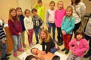 Den zdraví v krnovské nemocnici přilákal děti i dospělé.