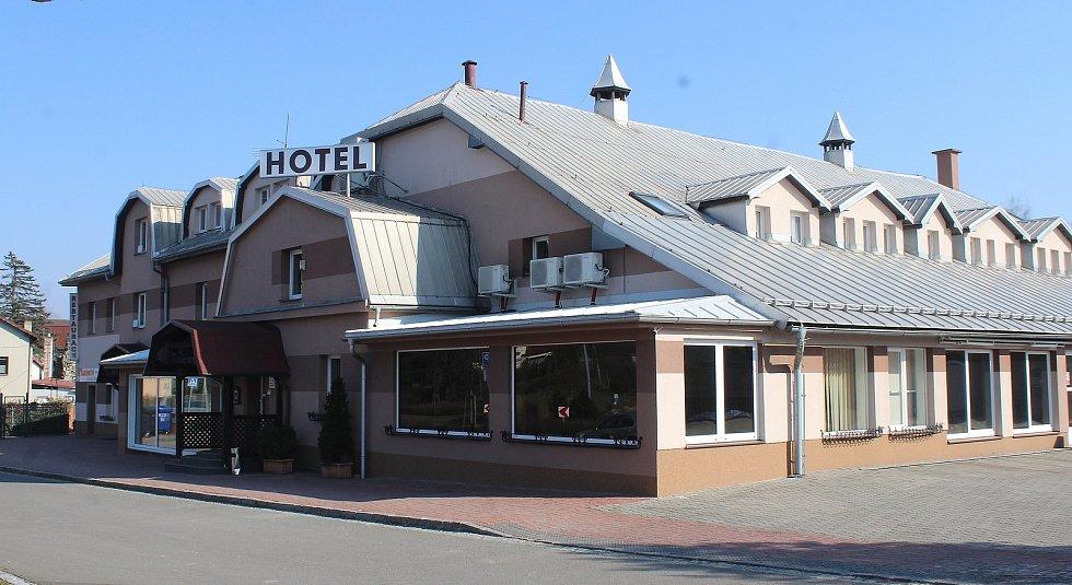 Horní Suchá. Hotel Na Císařství.