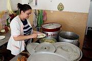 ADRA pomáhá dětem a rodinám v Mukačevu a okolí. Kuchyň školy č. 2 na ulici T.G. Ševčenka v Mukačevu.