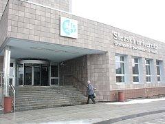 Karvinská Obchodně-podnikatelská fakulta Slezské univerzity.